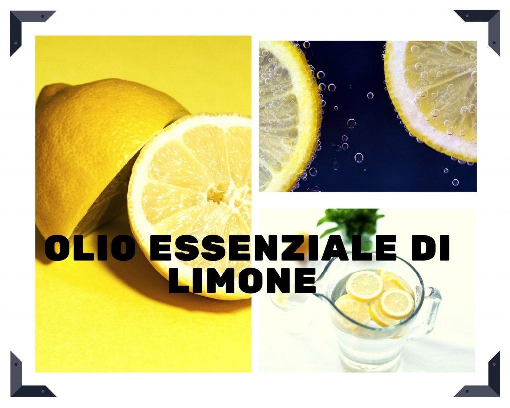 Articolo olio essenziale di limone